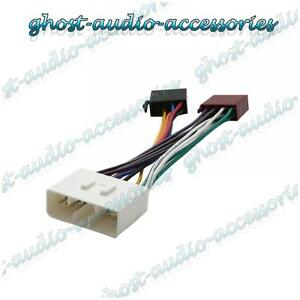 Iso Harnais Câblage Connecteur Adaptateur Radio Stéréo Câble pour Daewoo Matiz