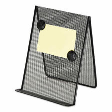 Universal Metal Mesh Document Holder 9 X 8 58 X 11 38 Free Standing Black