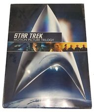 Space Movie Star Trek Remastered Motion Picture Trilogy DVD Set 2009 Widescreen
