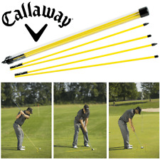 CALLAWAY GOLF STIX GOLF TRAINING AID IMPROVES YOUR AIM 2 X GOLF ALIGNMENT STICKS