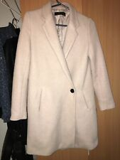 Women Zara Basicc Light Pink Coat Xs