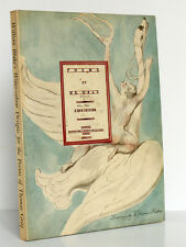 William's Blake Water-Colour Designs for poems of Thomas Gray Reduced repro 1971