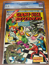 GIANT SIZE DEFENDERS #3 - CGC 9.4 NM (1st App. of Korvac ; White Pages)