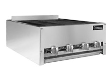 New 48 Lava Rock Char Broiler Grill 4 Burner 160k Btu Connerton Lrb 48 6529