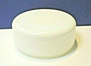 """Westinghouse White 9-3/4"""" Fitter Glass 10.5"""" Drum Shade NEW Vintage MINT 81616"""