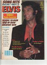 SONG HITS MAGAZINE'S TRIBUTE TO ELVIS PRESLEY PRISCILLA LISA MARIE HAYRIDE 1984
