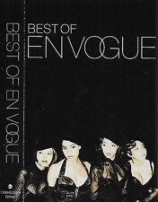 EN VOGUE BEST OF EN VOGUE CASSETTE ALBUM Hip Hop RnB/Swing EastWest Records