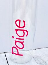Personalised Name Kids School Water Bottles, Lunch Box VINYL DECAL ONLY!!!