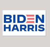 Biden Harris 2020 Bumper Sticker!  3x5 inches joe kamala president
