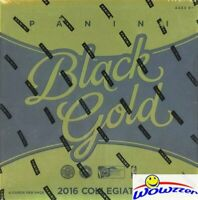 2016/17 Panini BLACK GOLD Basketball Factory Sealed HOBBY Box-4 AUTOGRAPH/MEM!
