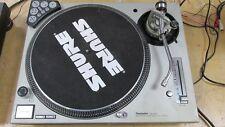 Techincs SL-1200MK5 analog DJ turntable W stanton t3 & Novation dicer silver