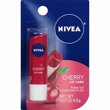 NIVEA Cherry Lip Care 0.17 Ounce, 6 Counts