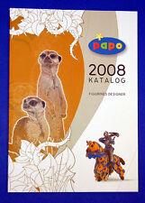 Papo Händler-Katalog DIN A4 2008 Softcover Figuren
