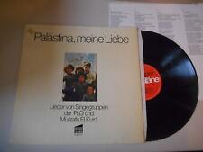 LP VA Mustafa El Kurd - Palästina, meine Liebe (11 Song) PLÄNE VERLAG / Insert