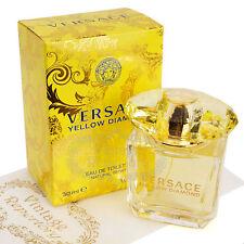 Versace Yellow Diamond Eau De Toilette Womens Perfume Oils Parfum Fragrance 1 oz