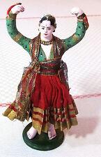 Inde époque XIXème Personnage de la vie indienne - Poupée - Santon - Figurine