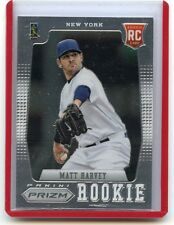 2012 PANINI PRIZM #179 MATT HARVEY ROOKIE CARD RC, NEW YORK METS, 012915