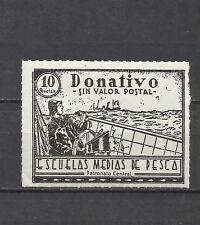 0328-SELLO FISCAL NUEVO ESCUELAS PESCA** 10 PTS REVENUE