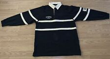 Guinness Rugby Dublin Ireland Jersey Long Sleeve Striped Rare Vintage Black 1759