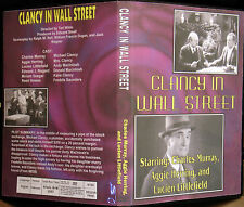 Clancy In Wall Street 1937 Dvd Charles Murray, Aggie Herring, Lucien Littlefield