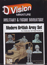 DTOYS :D VISION MINIATURE DT35-041 - MODERN BRITISH ARMY SET 1/35 - NUOVO