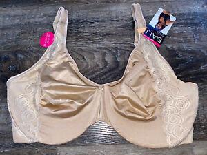 Bali ~ Women's Bra Minimizer Underwire Beige Nude Lightly Lined ~ 42G