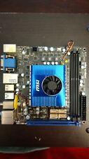 MSI E350IA-E45, BGA FT1, AMD Motherboard Funktionsfähig AMD E350 APU mit I/O Shield