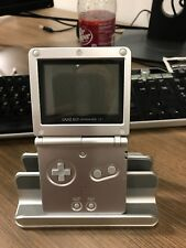 Nintendo Game Boy Advance GBA SP Platinum Silver Handheld System Console