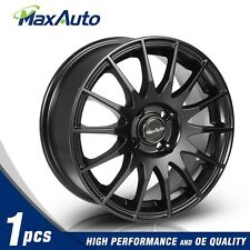 15x6.5 Rims 4x100 Matt Black Wheels For 4 Lug Civic CRX XA XB Integra (Set of 1)