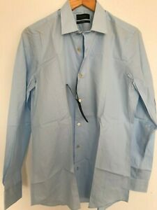 """Paul Smith Gents Formal Tailored Shirt in Sky Blue Sizes 15""""-17.5"""" - RRP £150"""