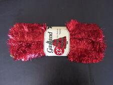 christmas garland - red - 32 feet - 3 inch