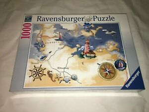 1000 Pieces Puzzle - Coastline With Lighthouse - Special Edition Ravensburger -