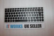 TESTEDLenovo UK Keyboard with Frame P/N:25215101 MP-13P86GB-6861 T5G1-UKE