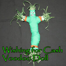 Wishing For Cash Money Voodoo Doll Success Financial Business Dollars Bank Totem