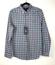 Vineyard Vines Slim Fit Tucker Shirt Men Sz Small Tomato Check Button NWT $89.50