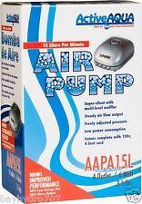 Active Aqua Air Pump AAPA15L 4 Outlet Aquarium Fountain Pond SAVE $ W/ BAY HYDRO