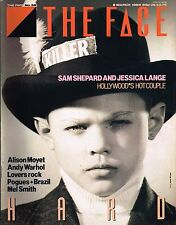 THE FACE #59 3/1985 SAM SHEPPARD Jessica Lange ANDY WARHOL Pogues TERRY GILLIAM
