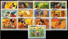 MONGOLIA-13 Different Walt Disney, Cartoon Postage Stamps-Large Stamps-MNH