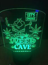 Marijuana Caveman Weed Man Cave Led Neon Light Sign Game Room ,Bar garage