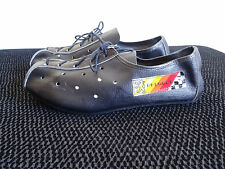 NOS RARE PEUGEOT VINTAGE LEATHER CYCLING SHOES SIZE 37 5 CAMPAGNOLO HANDMADE