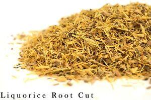 Liquorice Root Licorice Glycyrrhiza Radix Loose Tea - Premium Quality - UK Stock