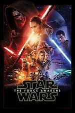 Star Wars 7 The Force Awakens - One Sheet POSTER 61x91cm NEW * Kylo Ren Rey BB8