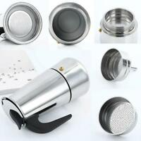 Stainless Steel Filter Stove Top Mocha Coffee Pot Coffee Maker Percolator Tool