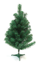 DLUX Mini 2 Ft. Christmas Tree Artificial Charlie Pine Tabletop– Unlit, Green