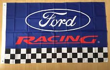Ford Racing 3x5 ft Flag Indoor/Outdoor Car Garage Banner-FAST FREE SHIPPING