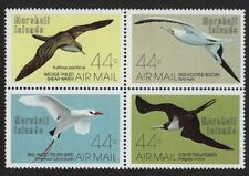 MARSHALL ISLANDS, SCOTT # C13-C16, BLOCK OF 4 MARINE BIRDS, MNH 1987