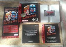 SUPER MARIO BROS Nintendo GameBoy Advance GBA NES CLASSICS
