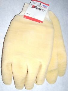 Lambert 1377-2 Krinkle Coated Safety Gloves w Jersey Cuff USA Made