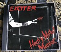 EXCITER Heavy Metal Maniac CD 14 tracks remastered 2005 MINT Megaforce Records