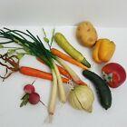 Longaberger Faux Vegetable Accessories for Baskets~Onions/Peppers/Carrots/Potato